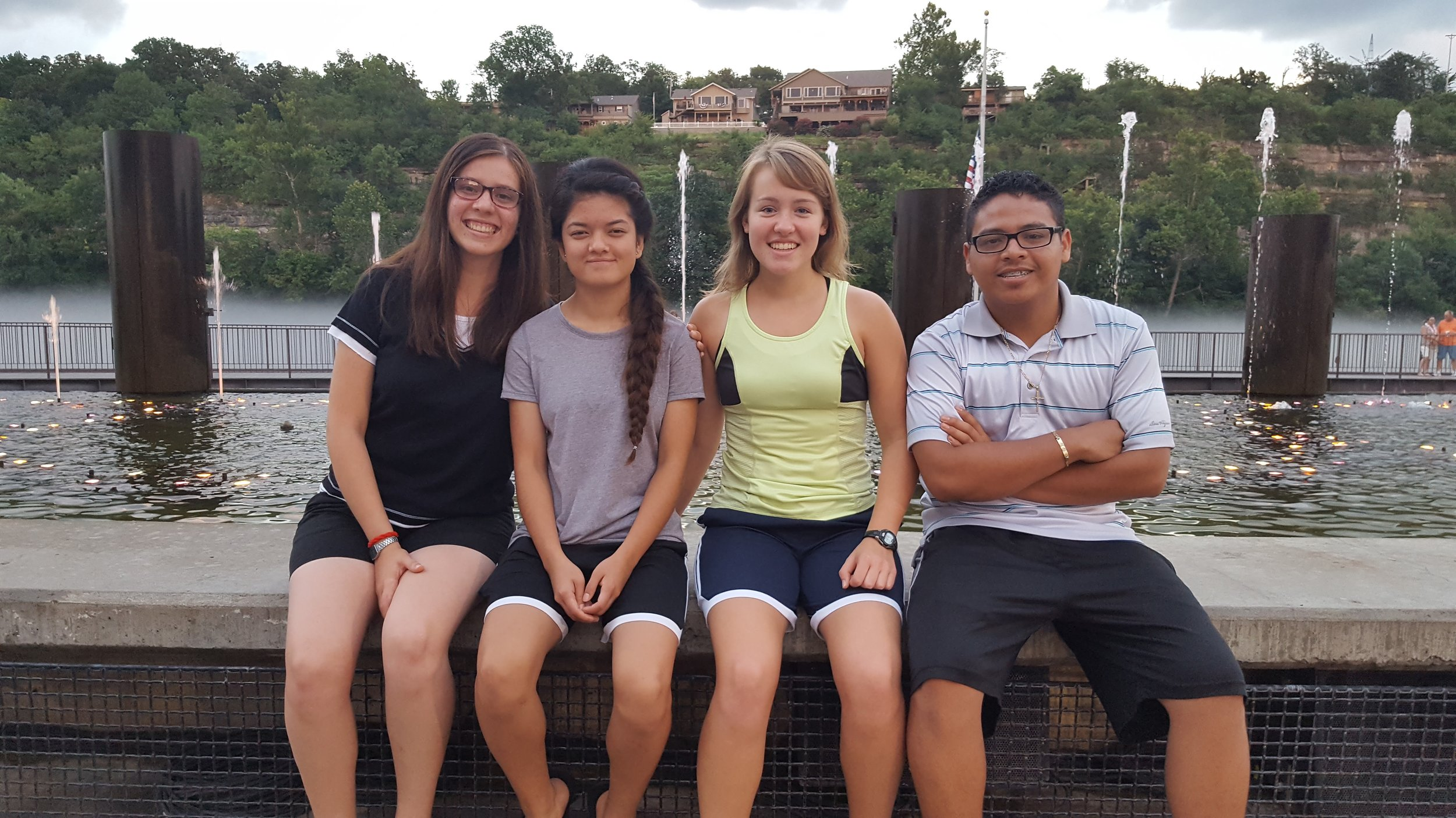 Summer Interns: Mónica, Laxmi, Annie, and Oscar became a family from all places!