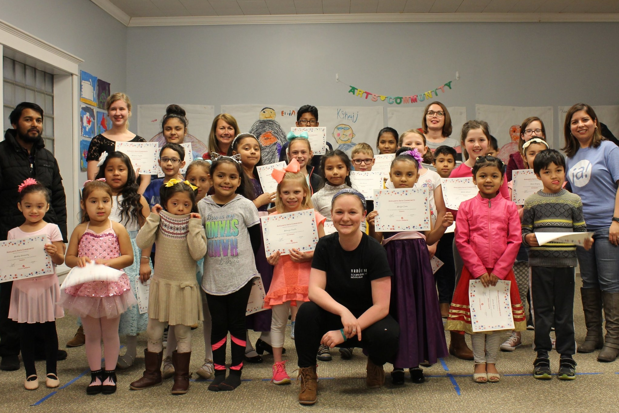 Arts Community End of Trimester Celebration