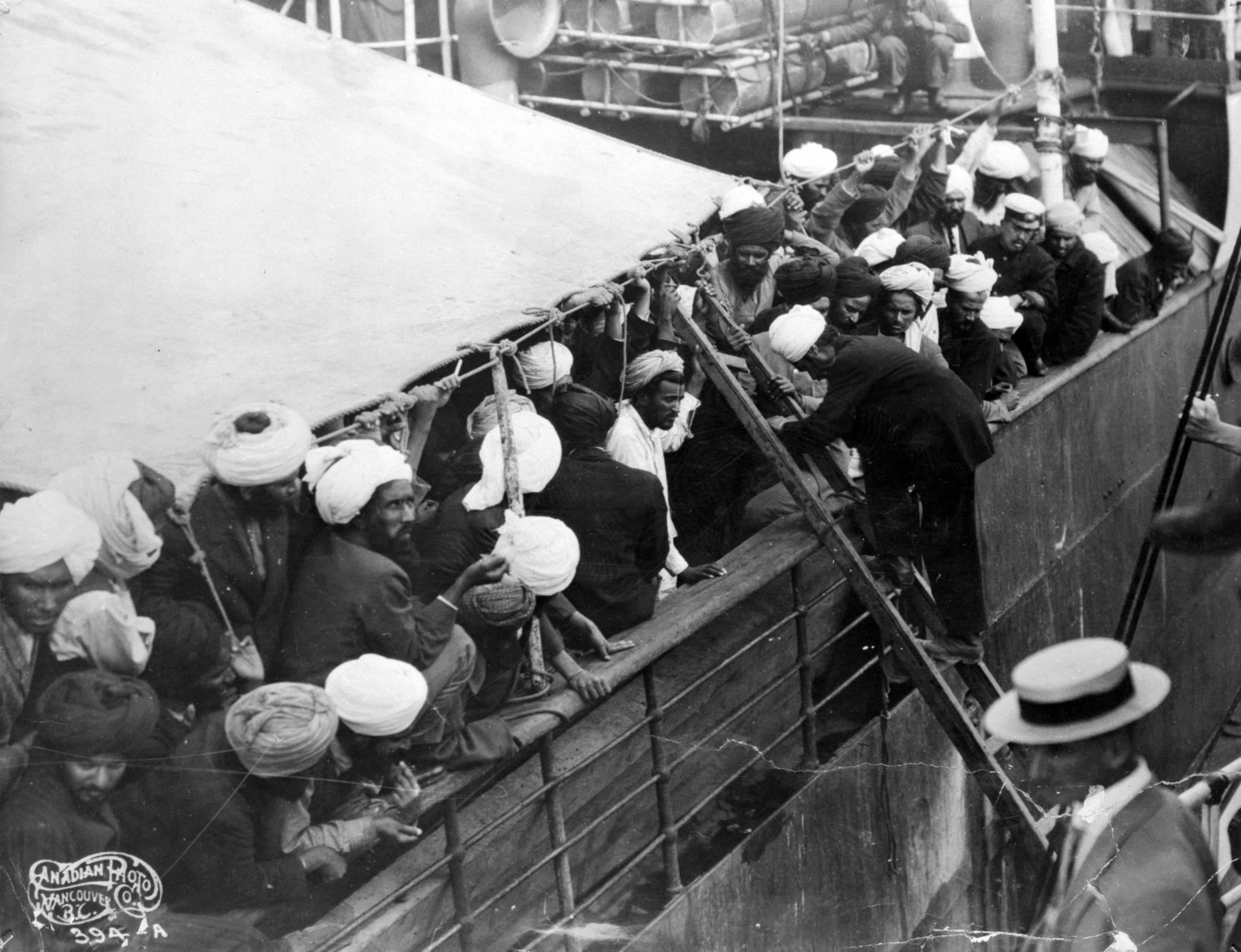 Komagata Maru Passengers Crammed On Board.jpeg