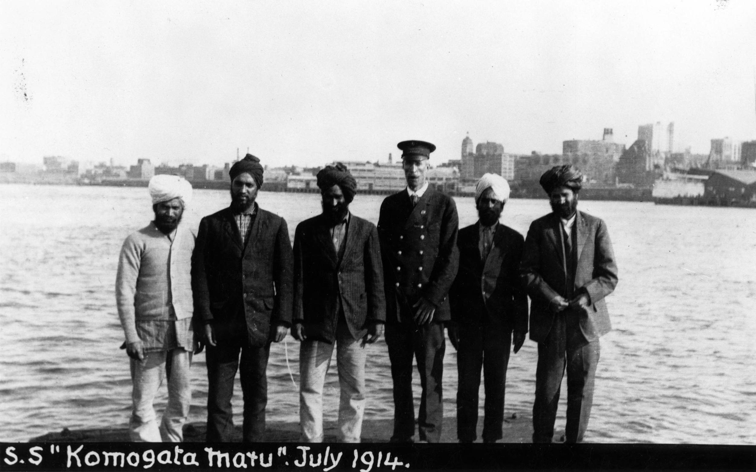 Komagata Maru Men on Shore.jpeg