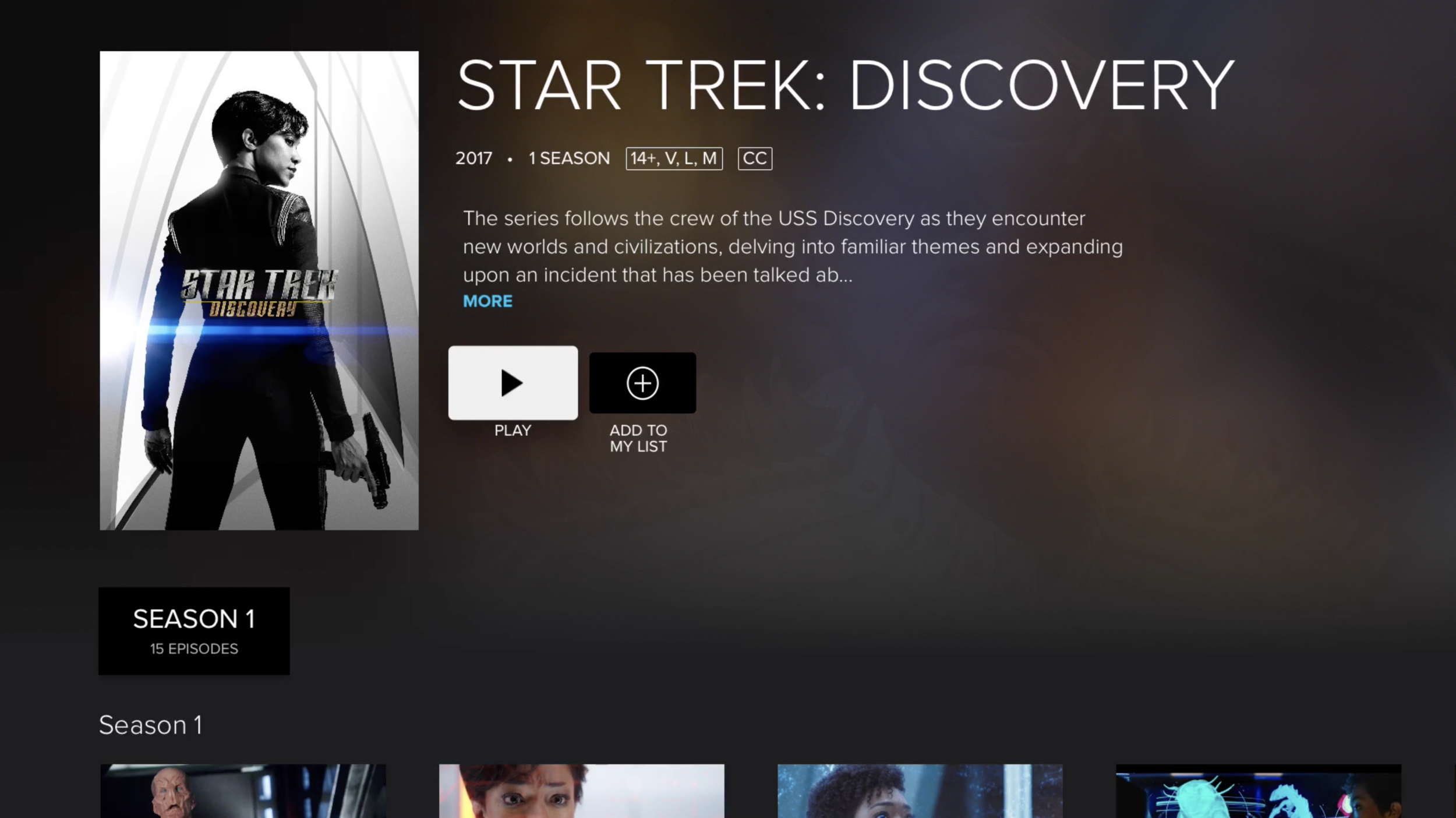 Crave - TV Shows - Star Trek Discovery.png