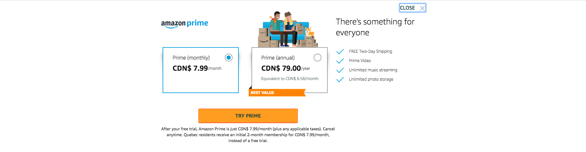 Amazon Prime Canada - Pricing Plans.png