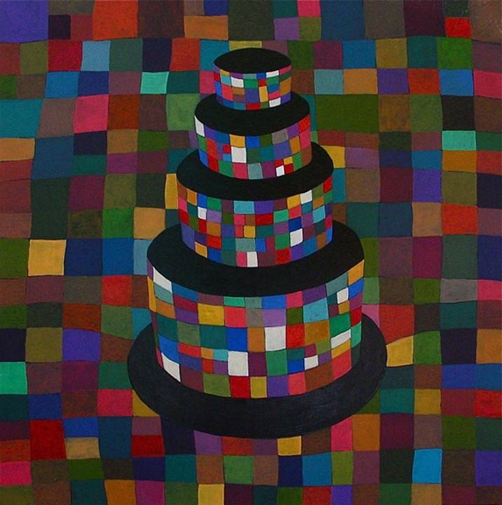 Klee Cake, 2009, Acrylic