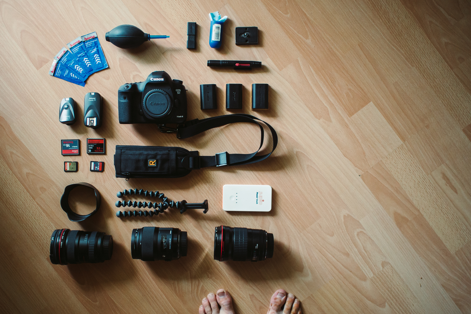 Camera gear: the essentials
