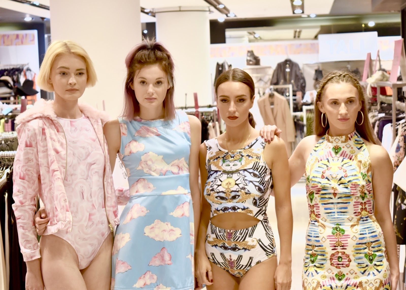 Topshop X SULDN Launch event 'AW17 Gyptian Life'