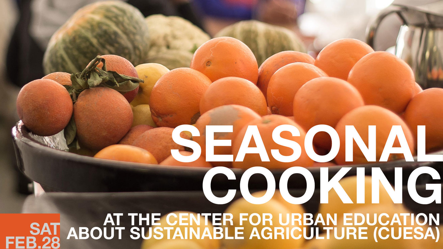 Seasonal Cooking with The Cook and Her Farmer