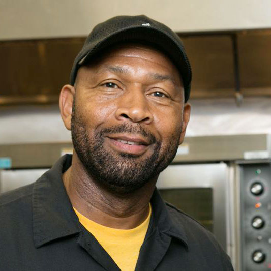 Chef Nigel Jones of Kingston 11 Jamaican Restaurant in Oakland