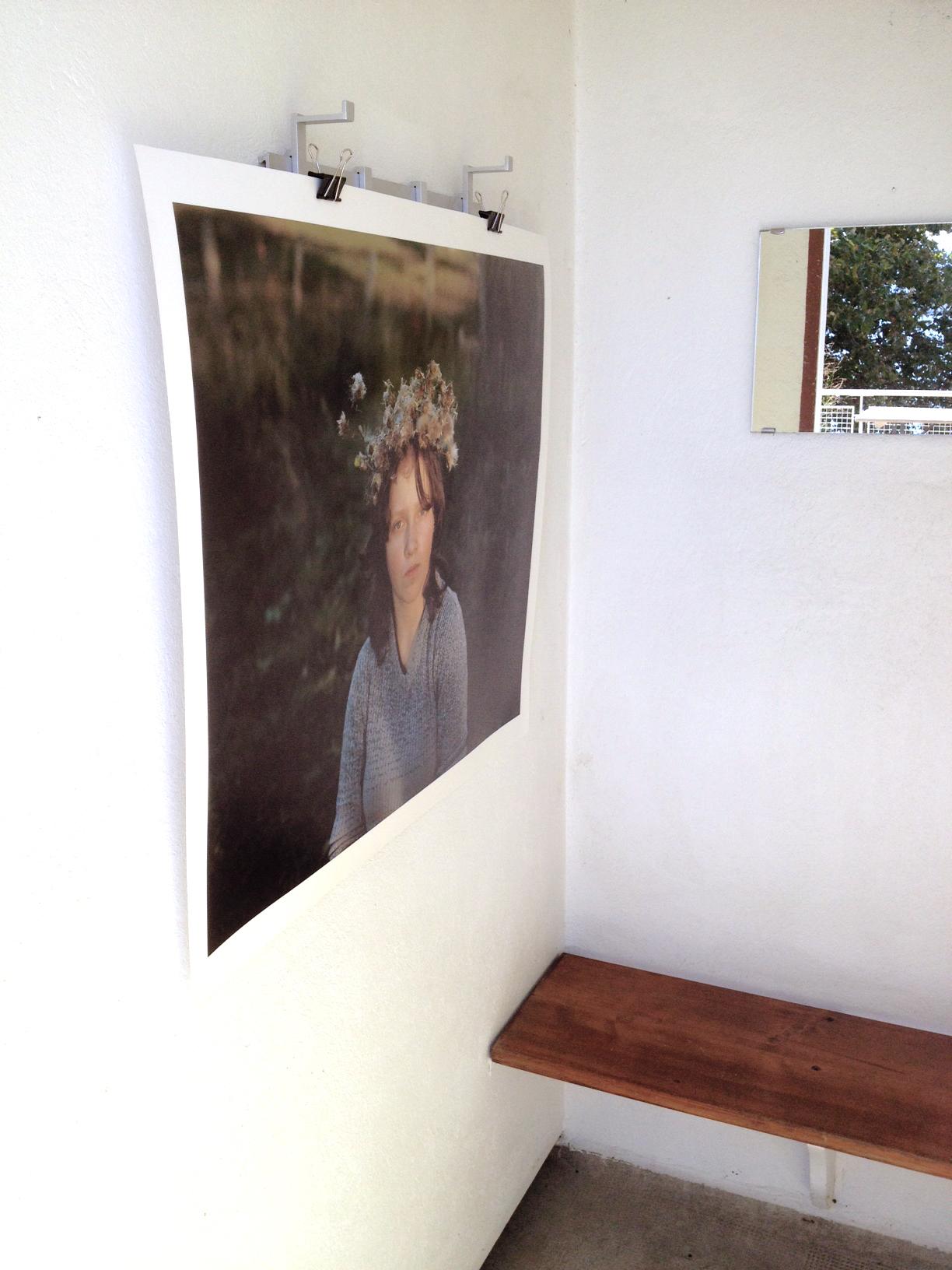 """""""Celebration"""", série """"Plumage Eclipse"""", 2014 - exposition """"Les Cabines"""", plage de Nyon jusqu'au 28 septembre 2014"""
