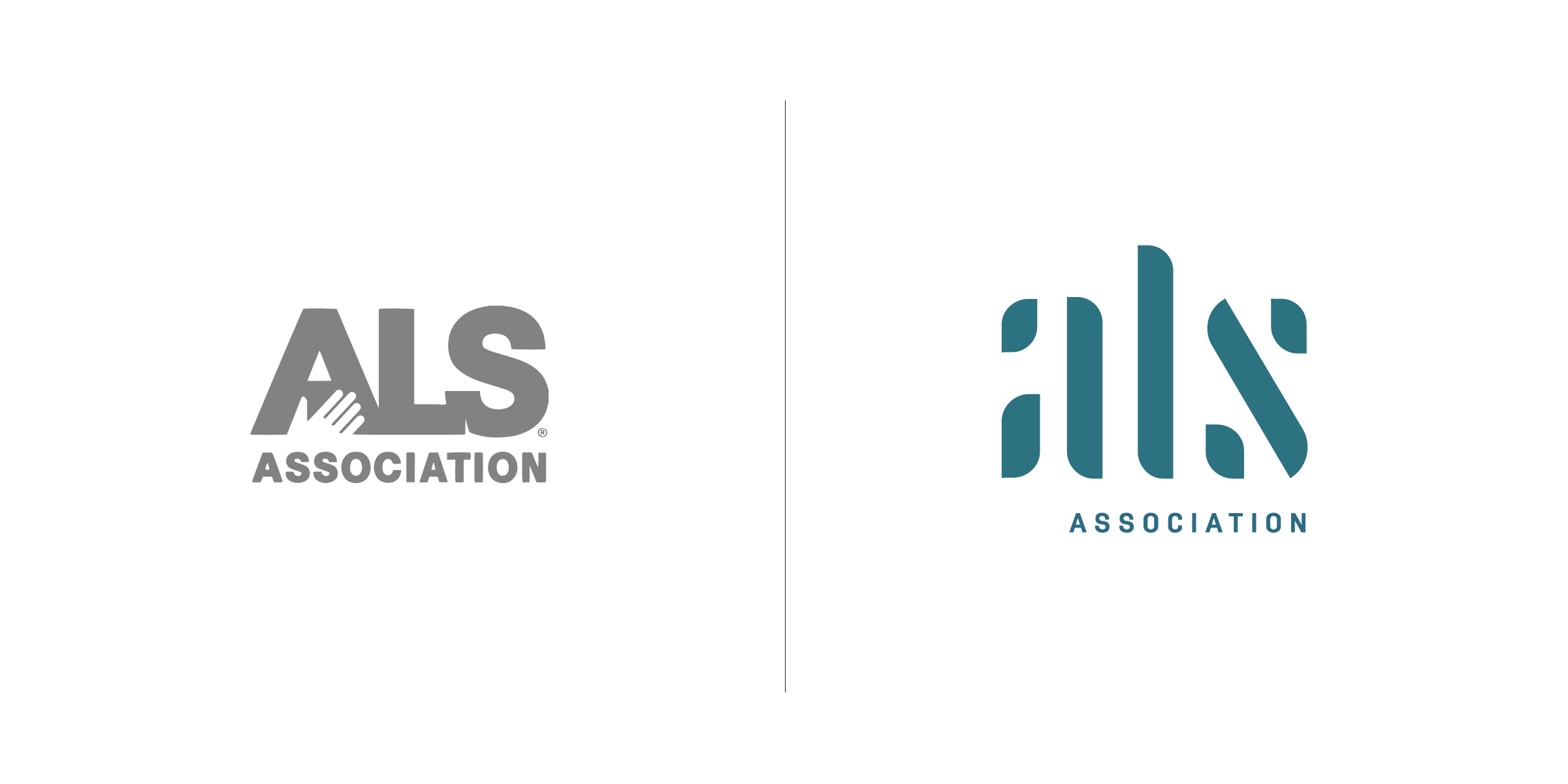 The client —   MMB & The ALS Association  The goal — To leverage the success and momentum of the Ice Bucket challenge to create an educational initiative that raises awareness and financial support for this tragic disease and to rally Americans to join the fight against ALS. Using the strategic positioning 'Decoding ALS', we created a unique logo concept to not only bring better understanding to the disease, but hope to those afflicted. This modern, strategic and sensitive approach to the new logo would help to continue increasing awareness and fund the critical research needed to decipher the disease and restore people's ability to speak, eat, write, walk, to fully function again.