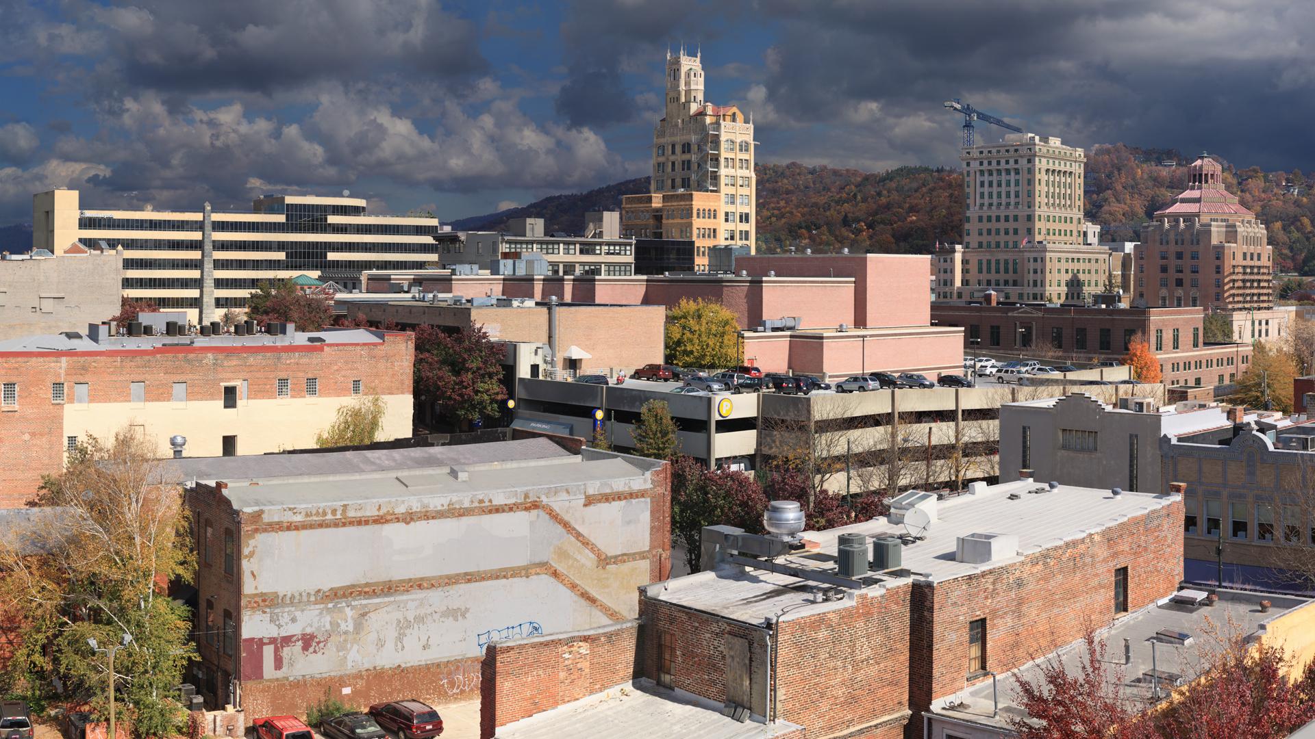 Asheville from aLoft
