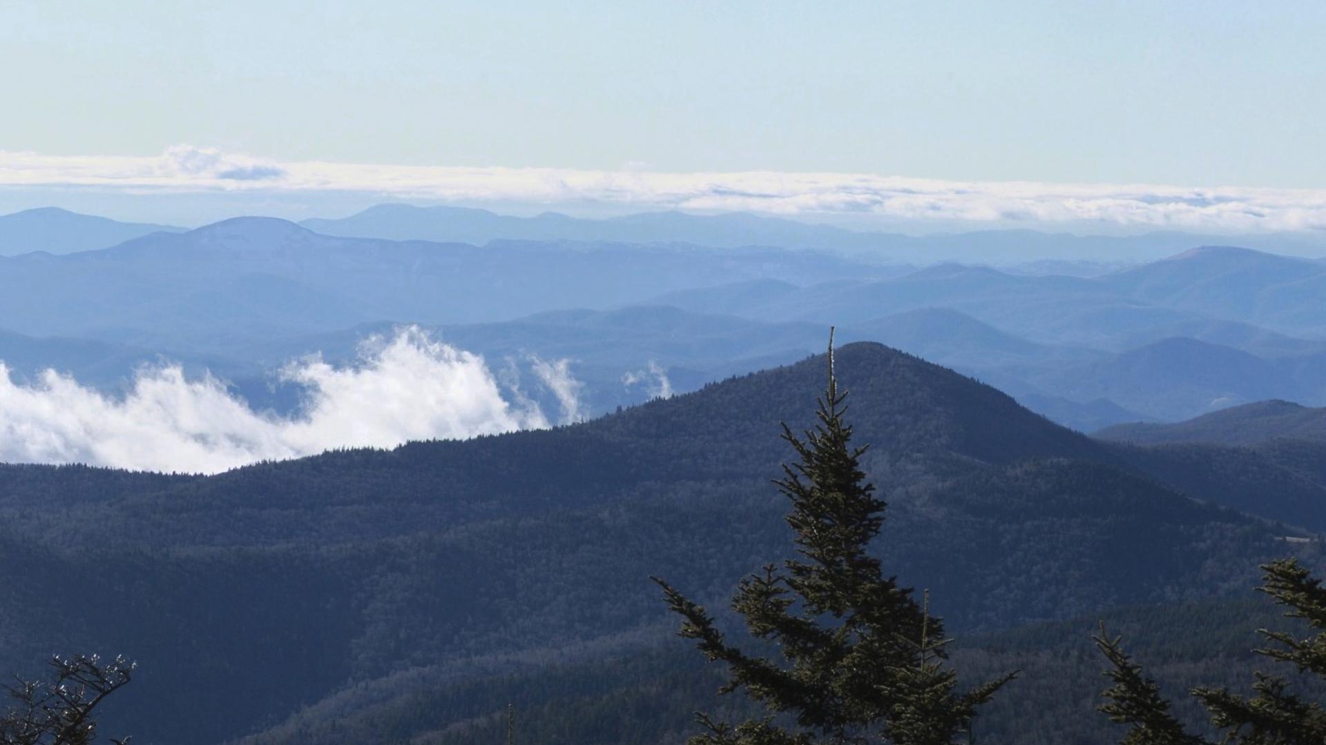 Mt. Mitchel Inset