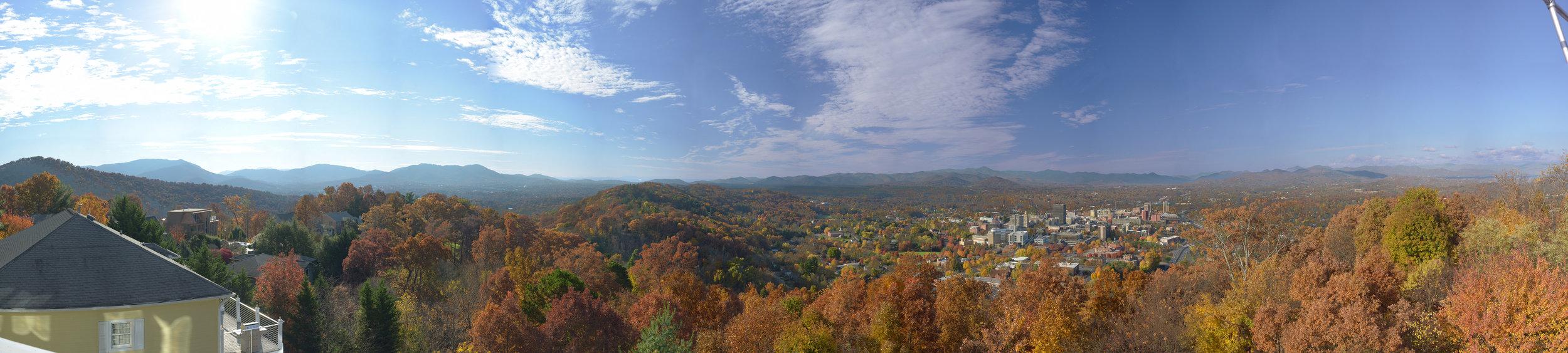 Asheville Fall