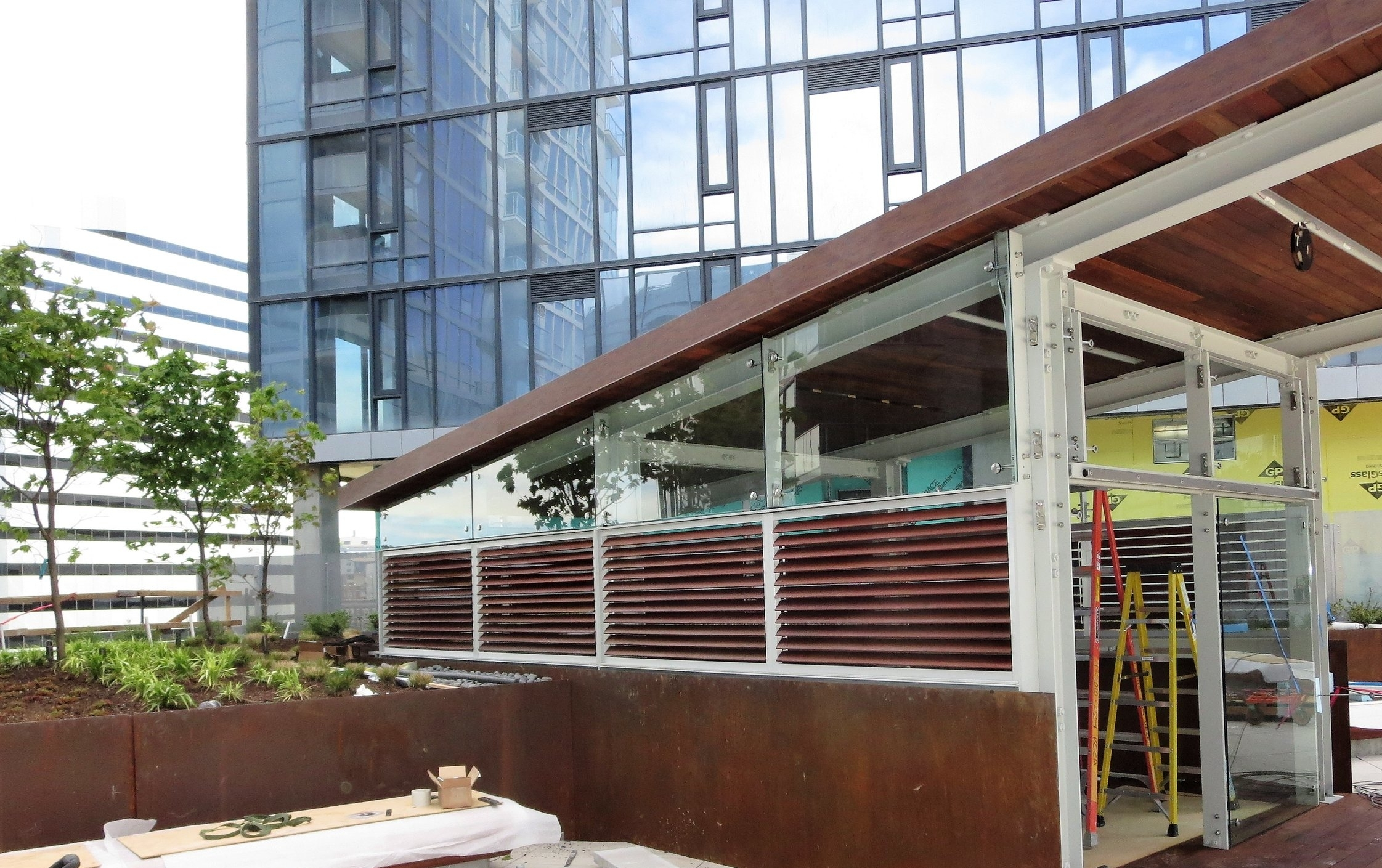 Video - Rooftop Louvered Terrace Project in Seattle, WA