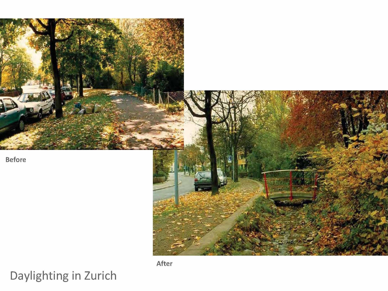 "Zurich's ""Stream Concept"" project"