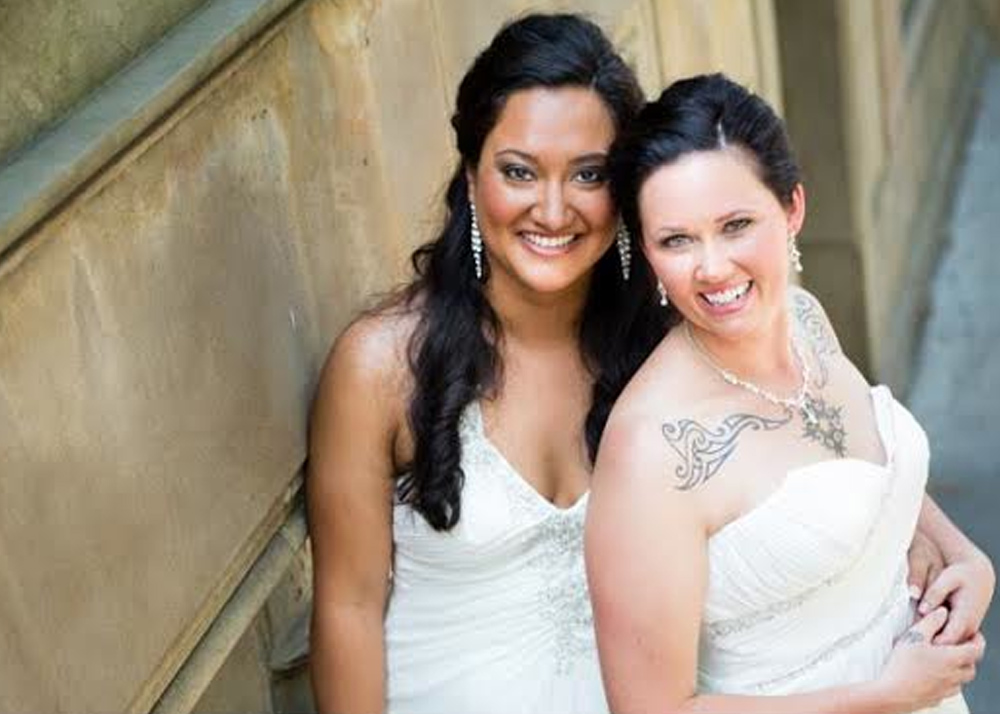Sophie and Mel, Married 6/28/13