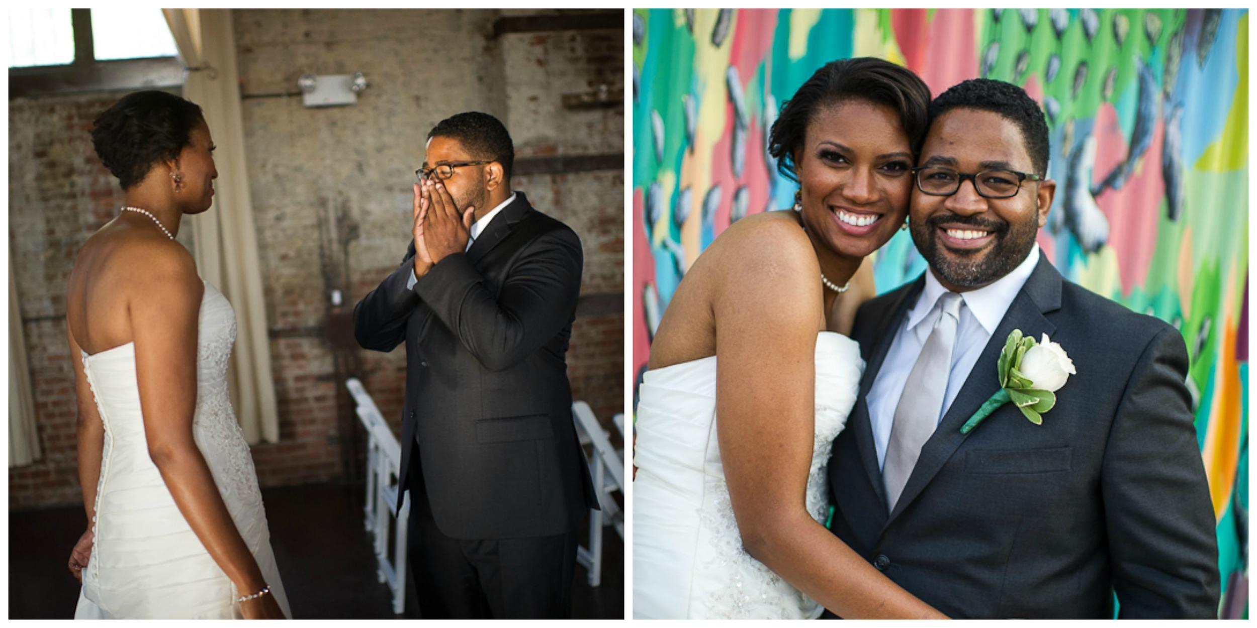 Green Buiding Wedding, Makeup for black brides
