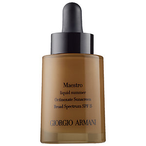 Another great liquid to use by itself or mixed in with foundation. Plus factor: a selection for every skin tone and desired effect. It's even great to use the darkest shade with Beauty Blender to softly contour areas on your face.