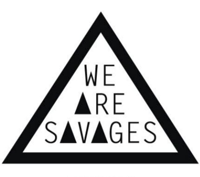 The Fix a sponsor at the launch of the We are Savages clothing line