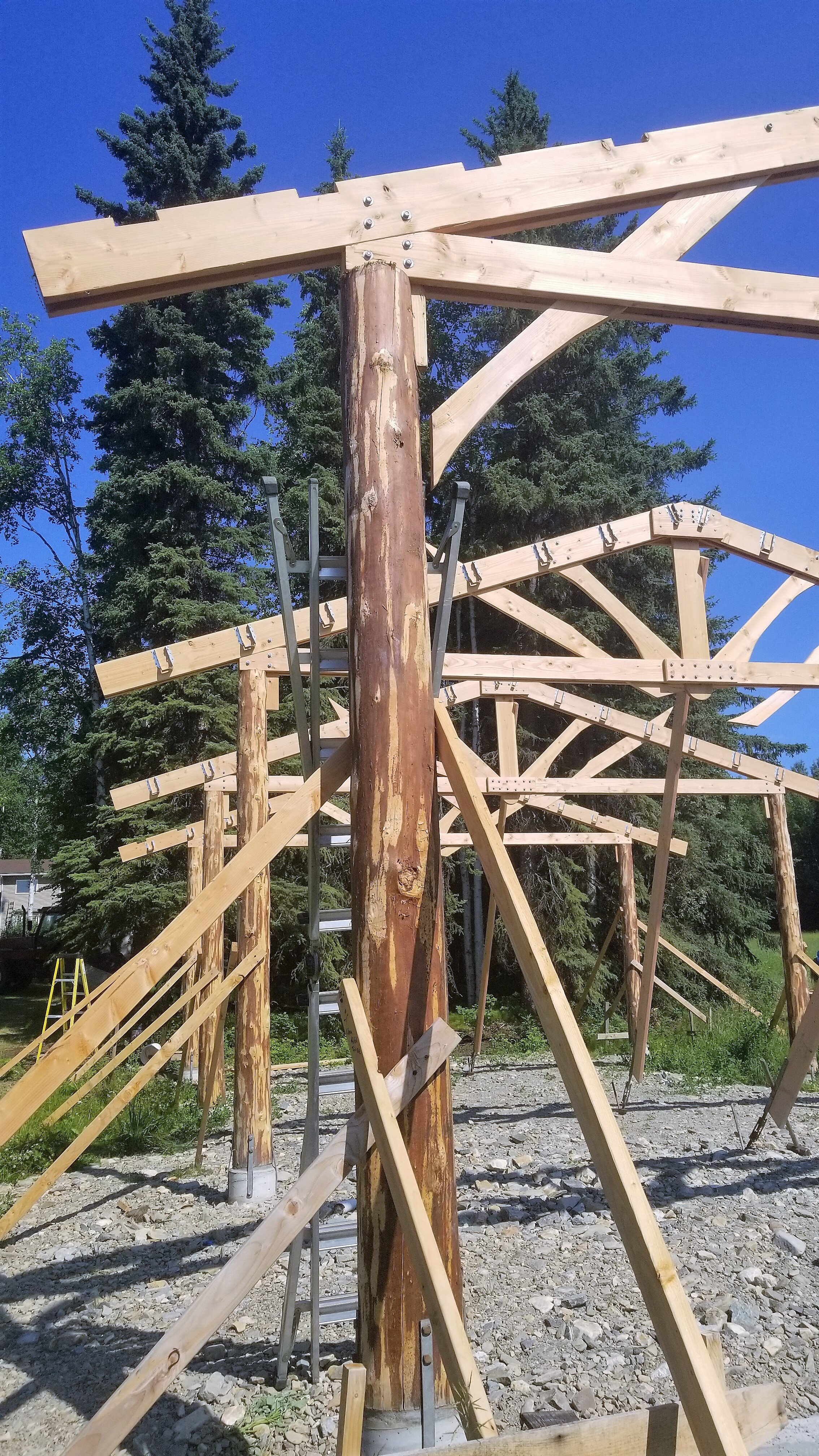 Pole Barn Designed by NSE