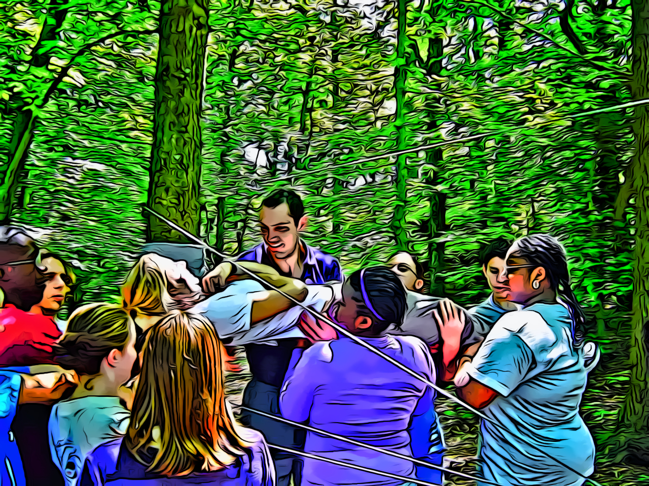 Youth Ropes Spider Web Challenge Course_CEL.jpg