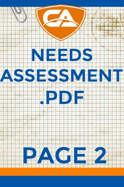 2 Needs Assessment