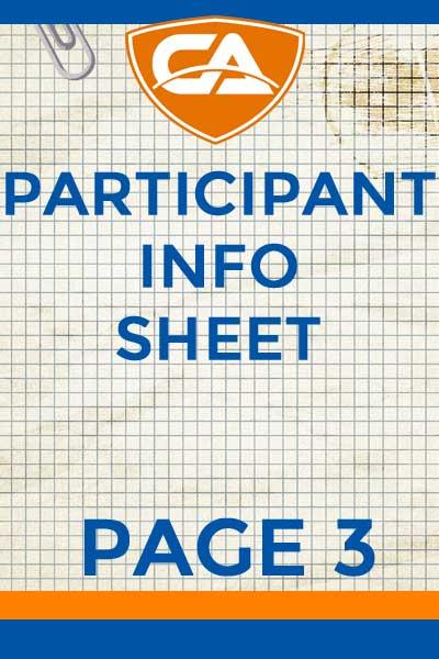 3 Information Sheet