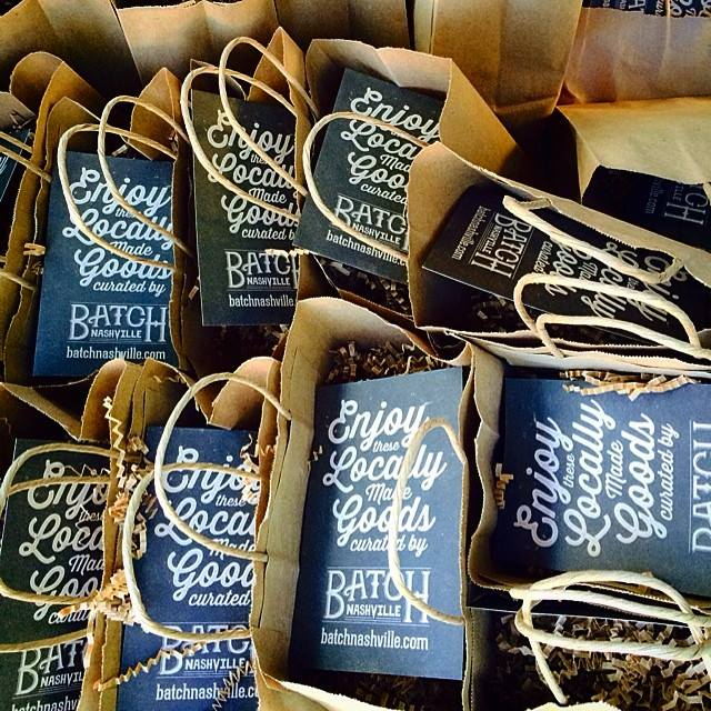 Batch Nashville Welcome Bags featured on Locklane Weddings & Events, Nashville Planner