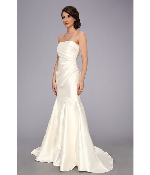 Locklane Weddings & Events | Badgley Mischka Wedding Dress, Satin Strapless