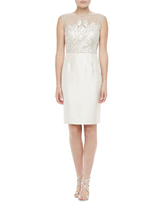 Locklane Weddings & Events | Inexpensive, Kay Unger New York Lace Dress