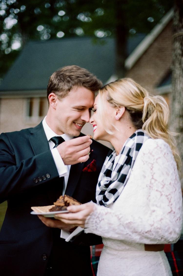 Locklane Weddings & Events on Ruffled Blog - Campfire Wedding Inspiration, Nashville Planner