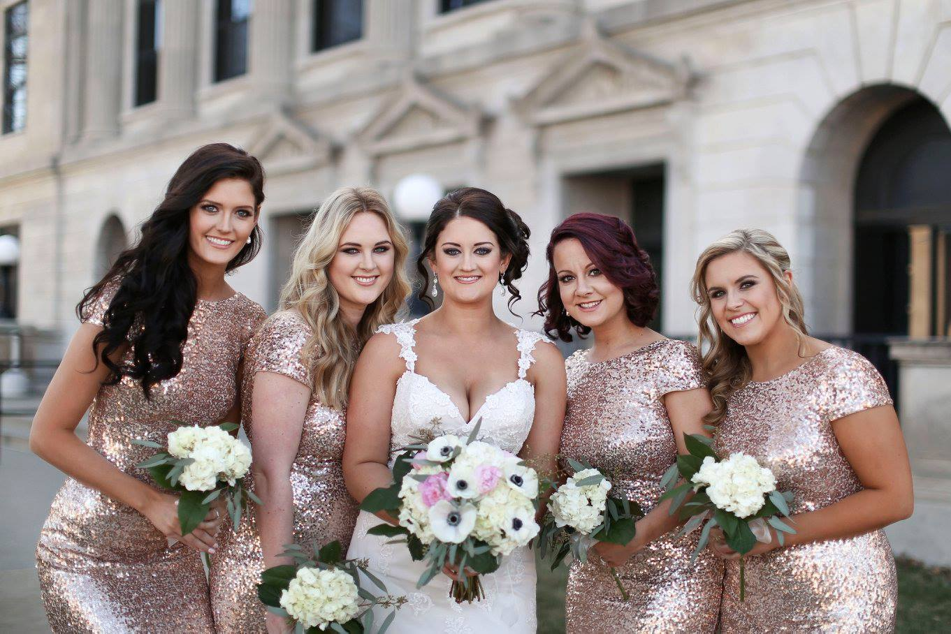 Bridesmaid: Danielle Johnson // Bride: Sarah Reynolds // Location: Hotel Bothwell in Sedalia, MO // Date: March 5, 2016 // Photographer:  Shanna Marie Photography
