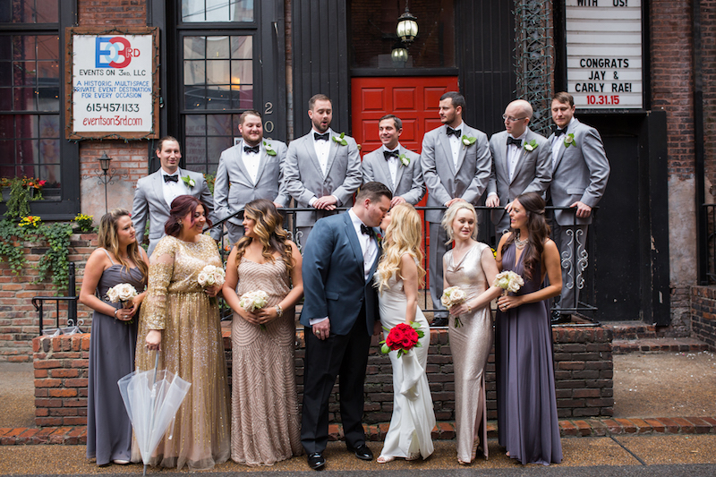 Printers Alley, Downtown Nashville Wedding, Locklane Weddings & Event