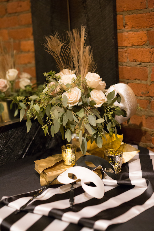 Masquerade Downtown Nashville Wedding, Locklane Weddings & Event