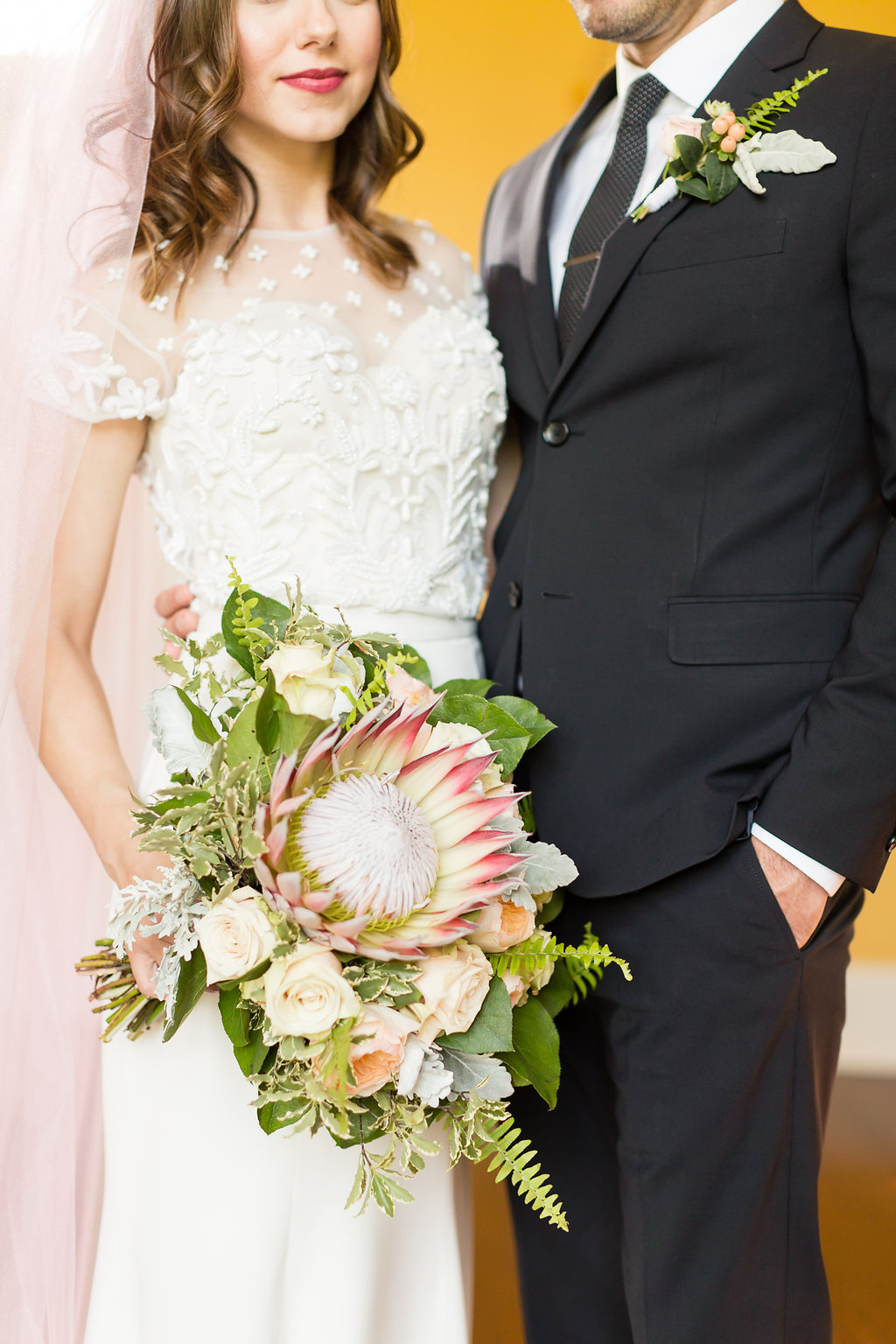 Locklane Weddings & Events +King Prothea Bouquet +Wedding Inspiration + GranDale Manor + Caley King Newberry