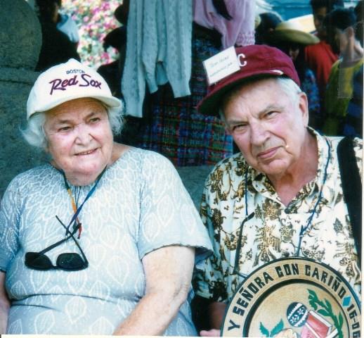 Trudie and Tom Hunt