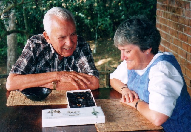 Phyllis Bunker and Tom Hunt