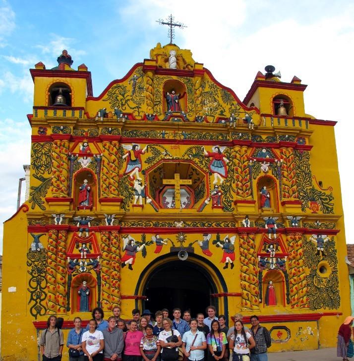 Church in San Andrés Xecul