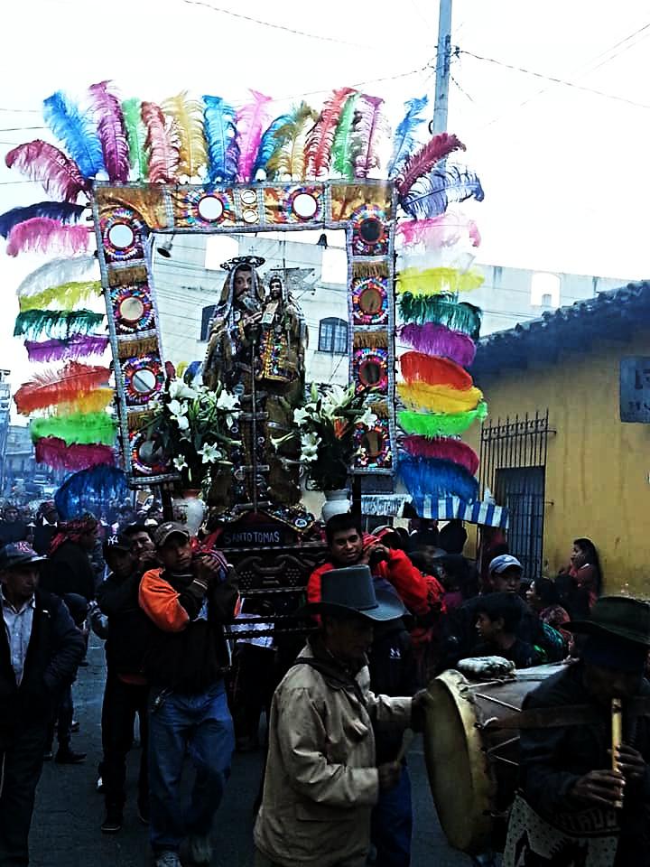 Procession in Chichi