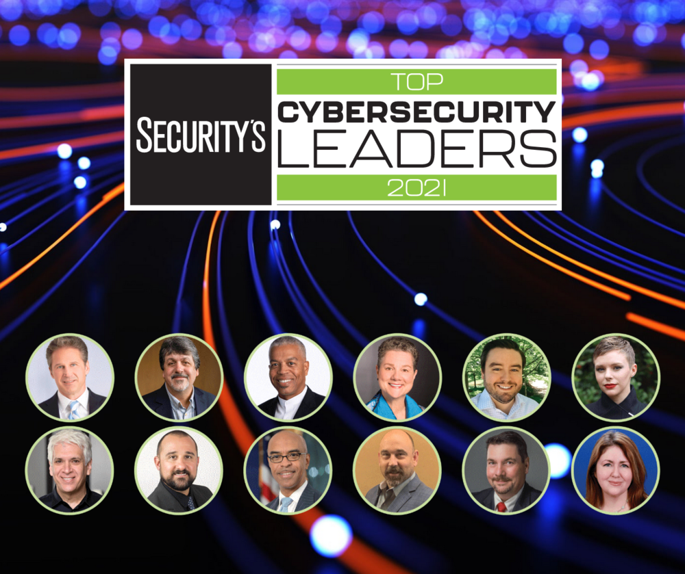 2021 Top Cybersecurity Leaders