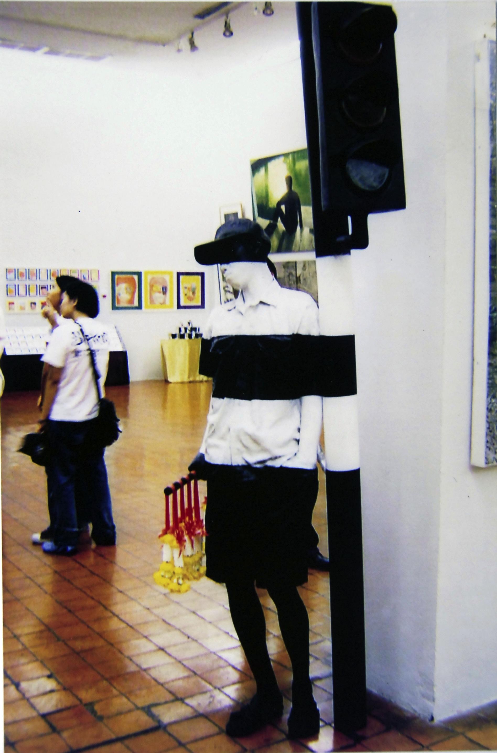 Way no.3 2004  Medium: Fiberglass