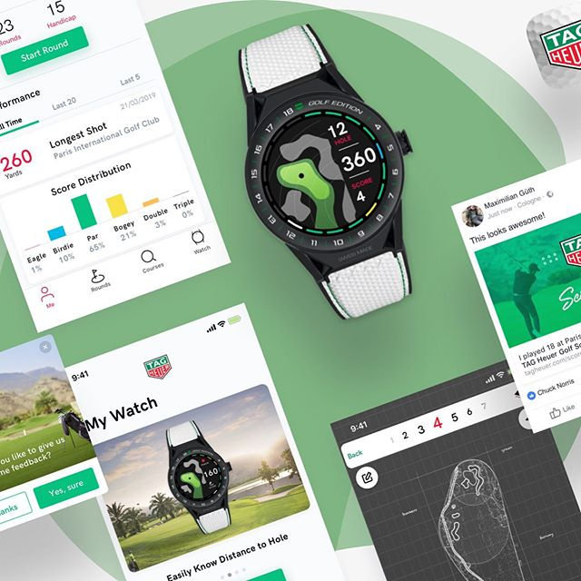 @tagheuer golf application #ui #uidesign #ux #uxdesign #app #webdesigner #graphicdesigner #webdesign #graphicdesign #inspiration #minimal #minimalist #interface #dribbble #behance #redesign #white #design #designinspiration #creativity #freelancedesign #instadesign #creative #graphicdesignblg #mac #instahub #landingpage