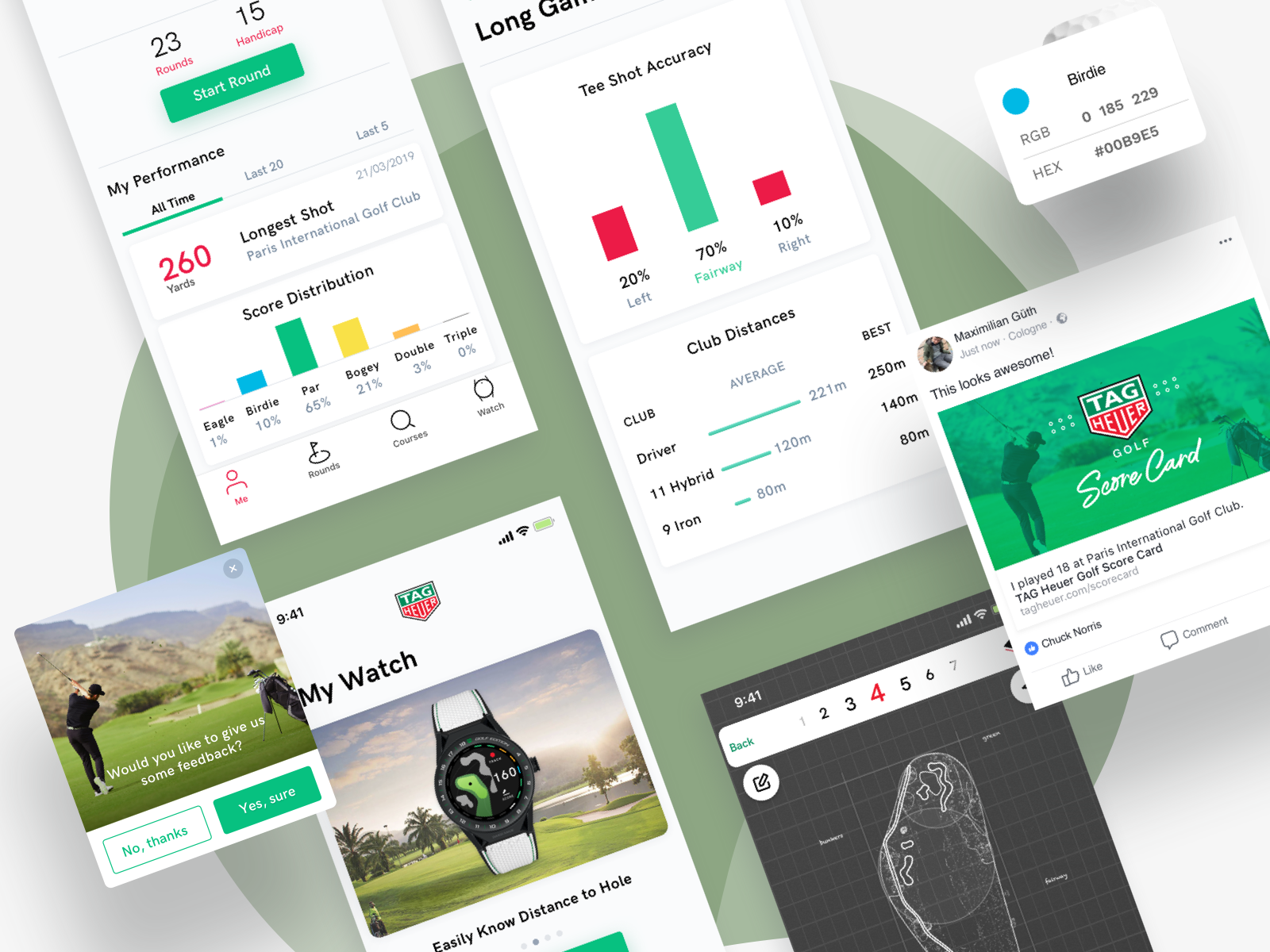 TAG HEUER GOLF APPLICATION — BSTY