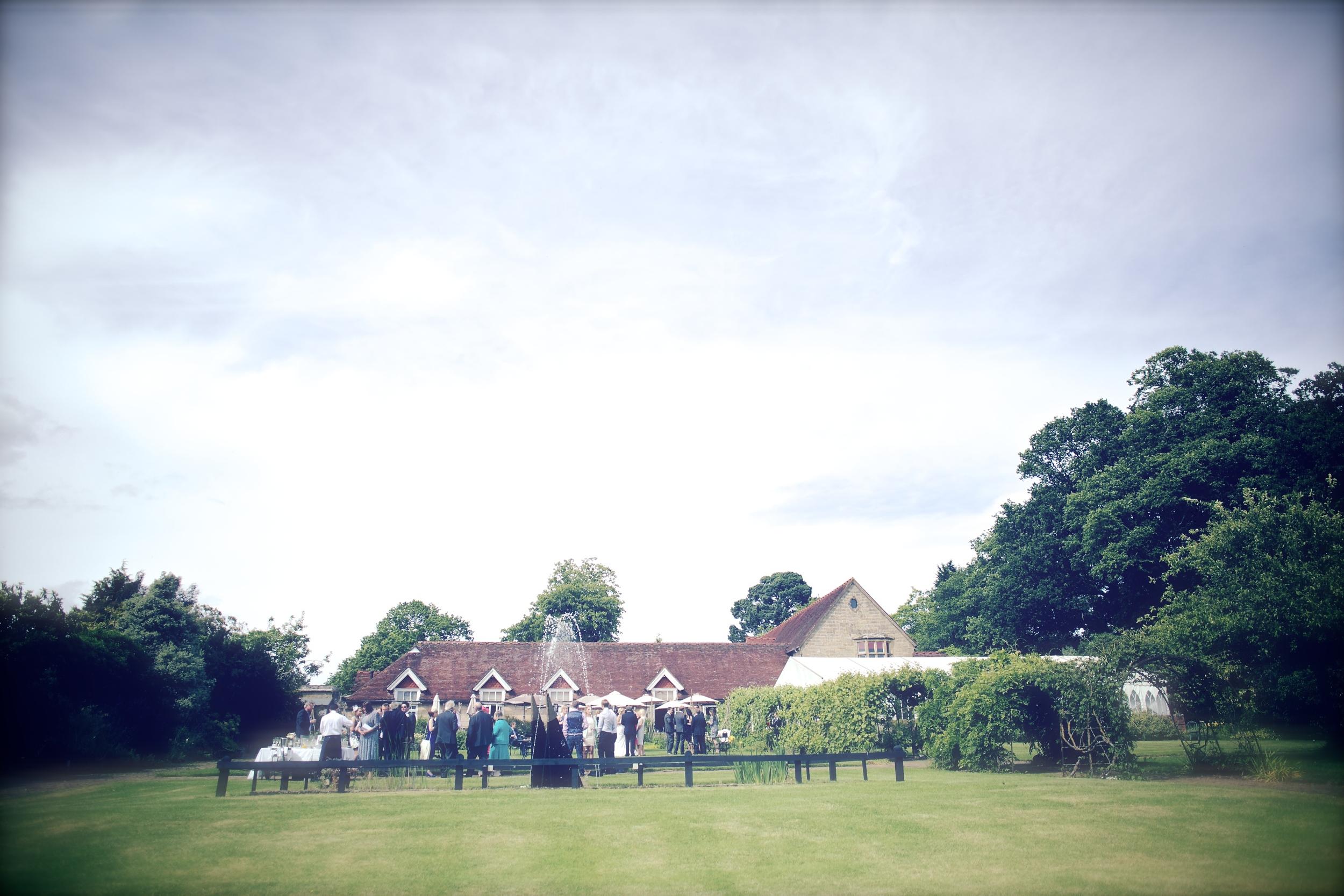 Jeremy's Restauarnt - Borde Hill Wedding