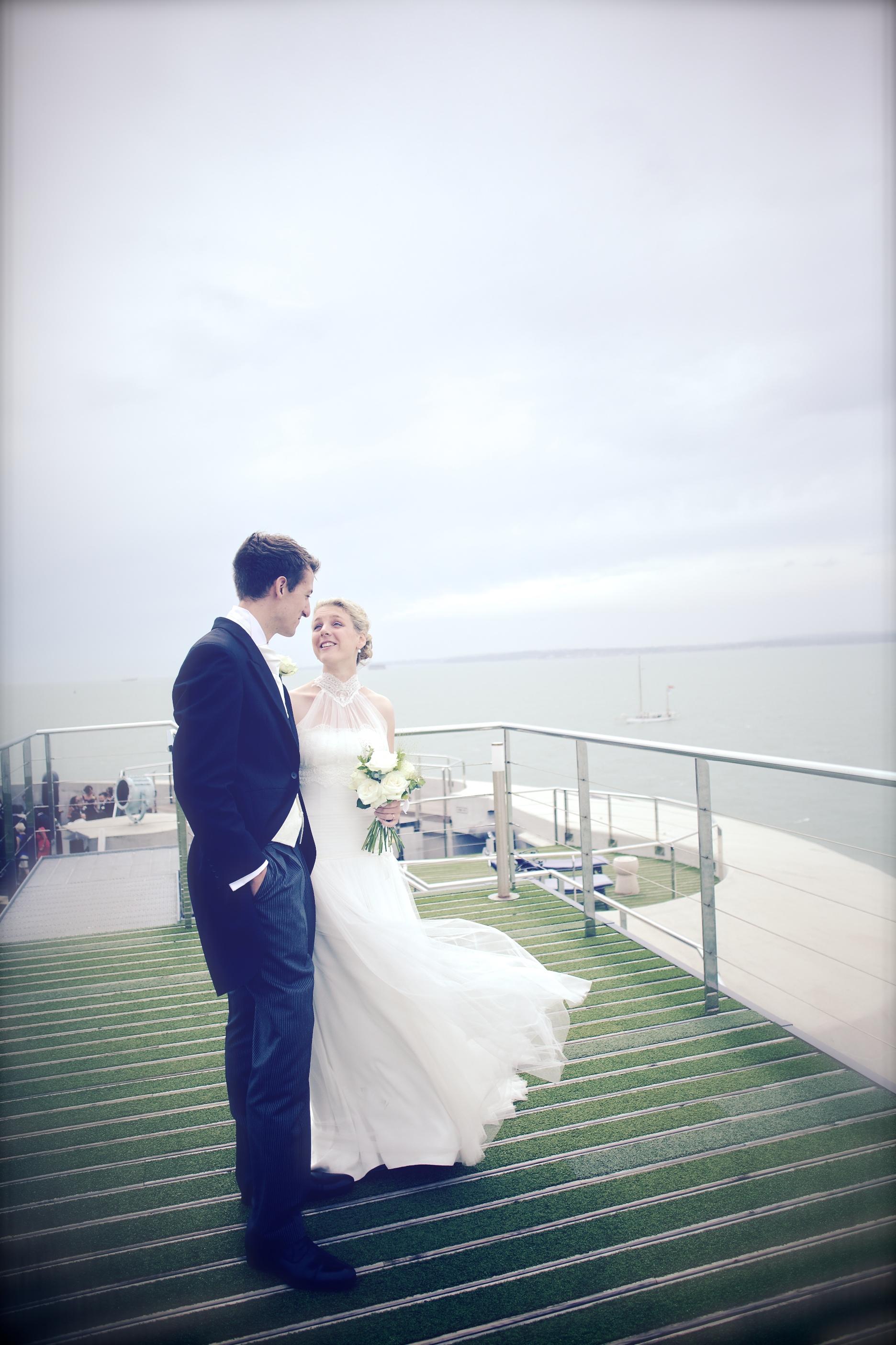 Spitbank Fort Wedding Photographers