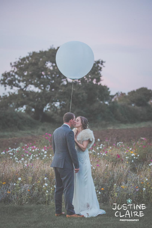 Southend Barns wedding photographers meadow