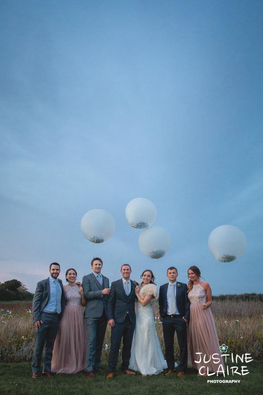 balloons at Southend barns