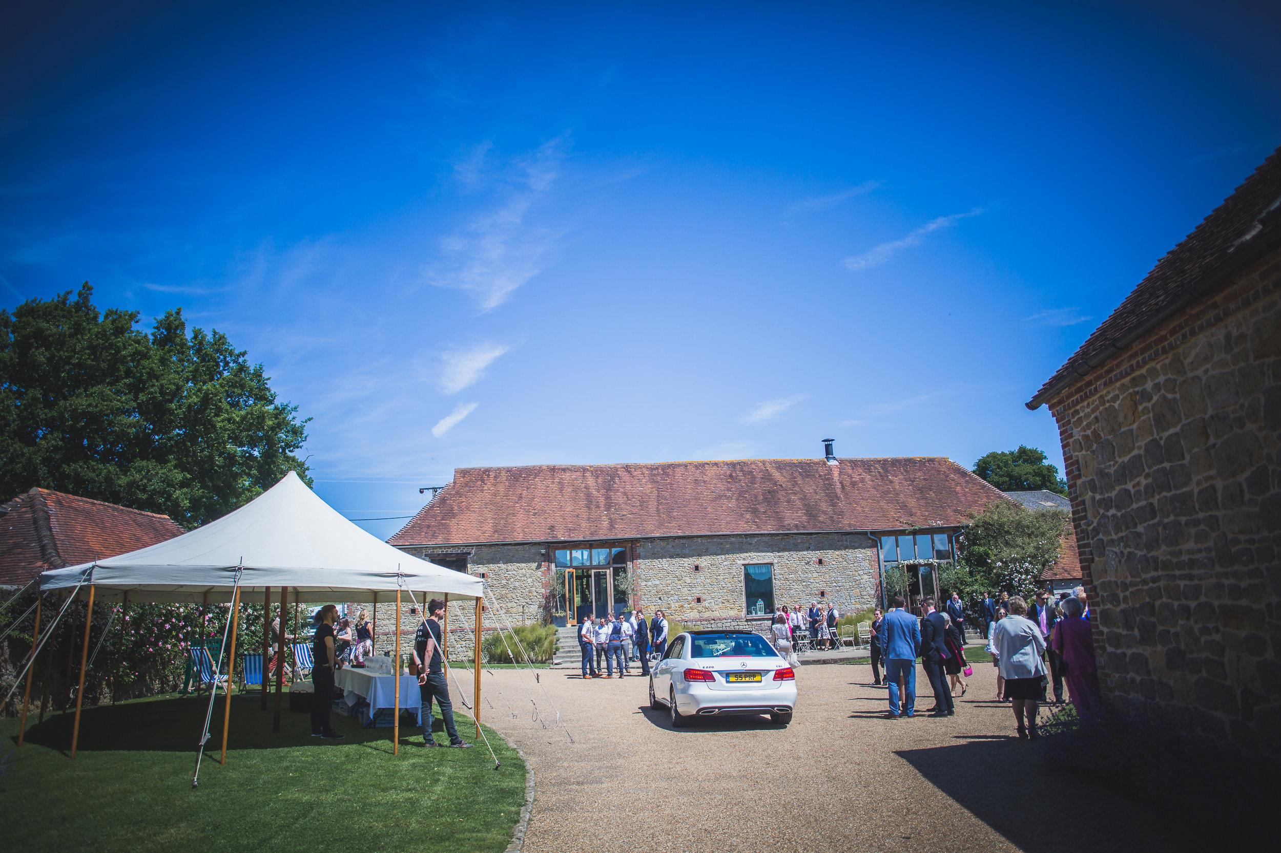 Grittenham Barn female wedding photographers west sussex petworth social-34.jpg