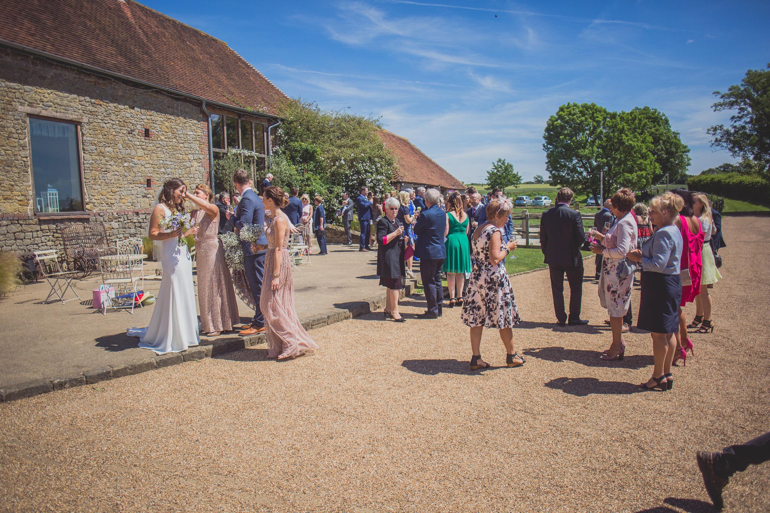 Grittenham Barn female wedding photographers west sussex petworth social-79.jpg