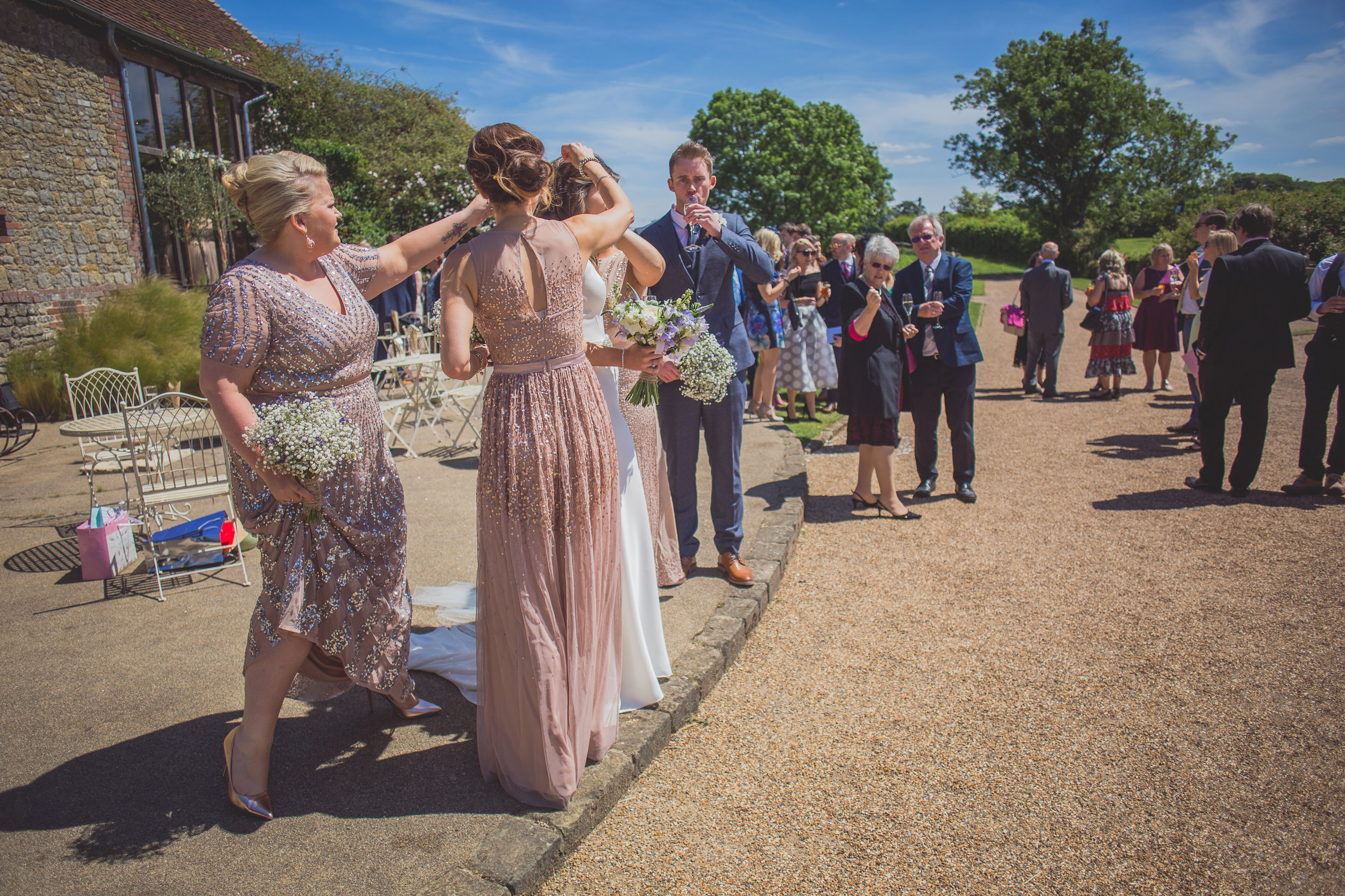 Grittenham Barn female wedding photographers west sussex petworth social-80.jpg