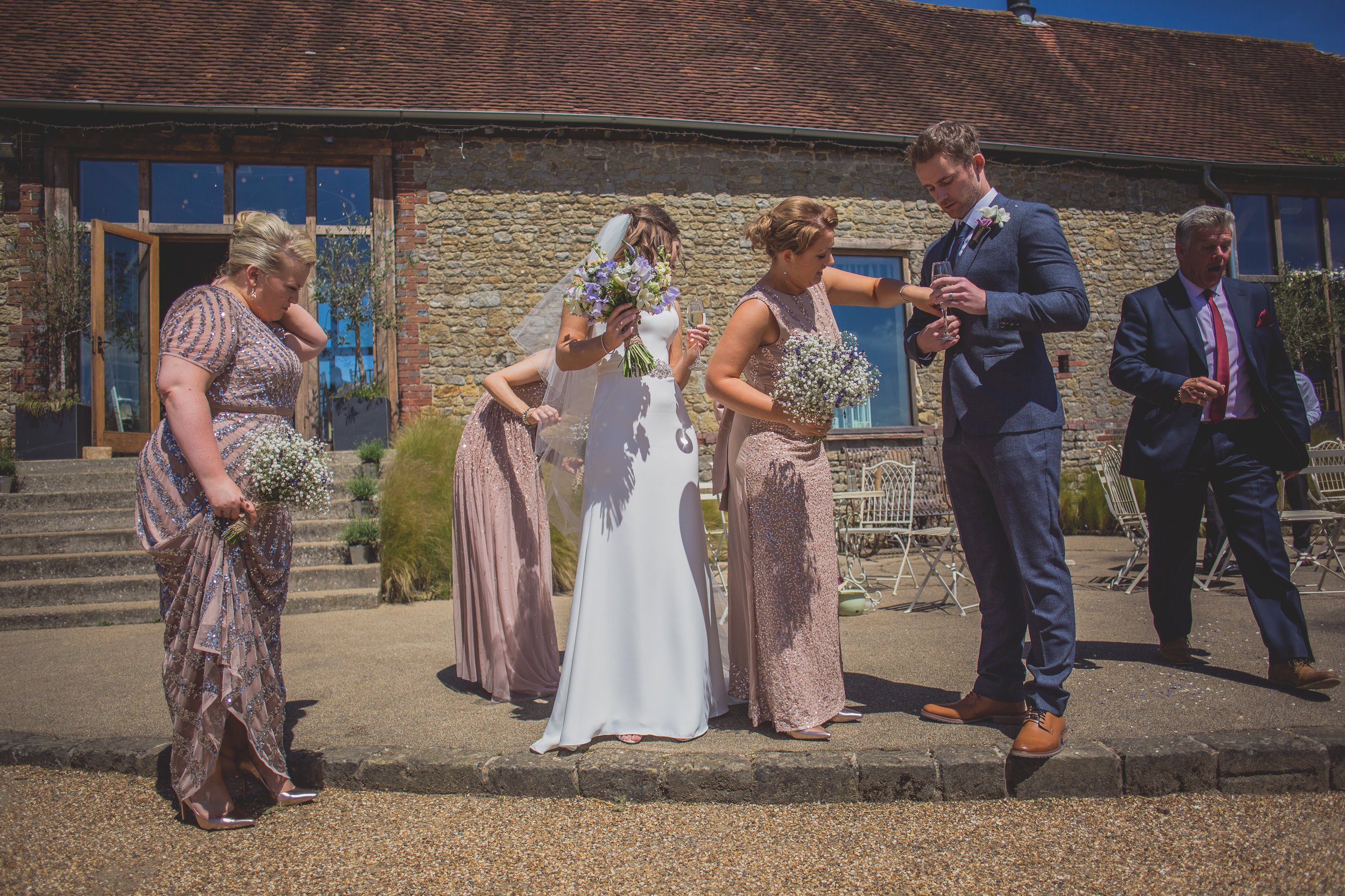 Grittenham Barn female wedding photographers west sussex petworth social-83.jpg